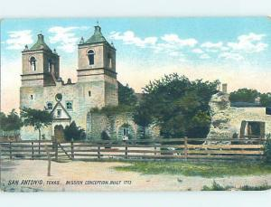 Unused Divided-Back POSTCARD FROM San Antonio Texas TX HM5923
