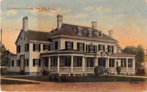 Sea Grit New Jersey Governors Cottage Antique Postcard J49898