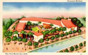 NY - 1939 New York World's Fair. Consumers Building