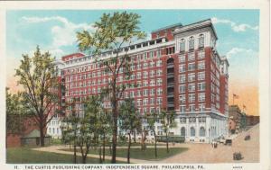 PHILADELPHIA, Pennsylvania, 1910s; Curtis Publishing Co., Independence Square