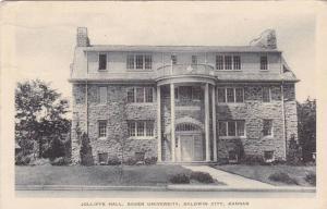 Jolliffe Hall, Baker University, Baldwin City, Kansas, PU-1949