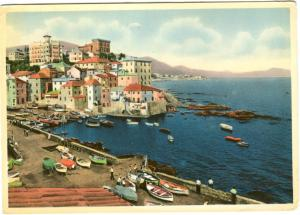 Italy, Italia, GENOVA, Boccadasse, 1950s used Postcard