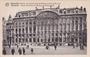Belgium Brussels Market House Of Old Ducs Of Brabant Old Exchange