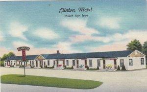 Iowa Mount Ayr The Clinton Motel sk5643
