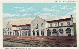 CALIENTE , Nevada , 1910-30s ; Union Pacific Railroad Train Depot