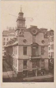 TUCK Boston Series: Old State House, Boston, Massachusetts Pre-1907