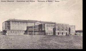 Maine Orono Alumni Memorial Gymnasium And Armory University Of Maine Albertype