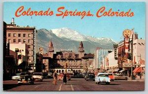 Colorado Springs~Rock, Pretty Baby~Firestone, Arrow Hotel~Exchange National Bank