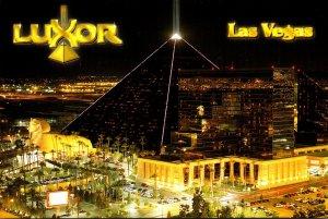 Nevada Las Vegas Luxor Hotel and Casino At Night