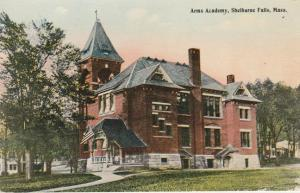 Arms Academy at Shelburne Falls MA, Massachusetts - DB
