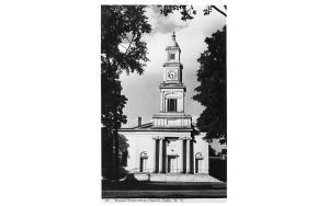 Second Presbyterian Church Delhi, New York Postcard