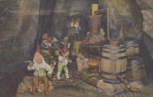 Tennessee Lookout Mountain Moonshine Still In Rock City Gardens