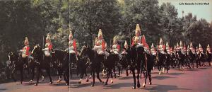 United Kingdom, Great Britain, England Life Guards in the Mall  Life Guards i...