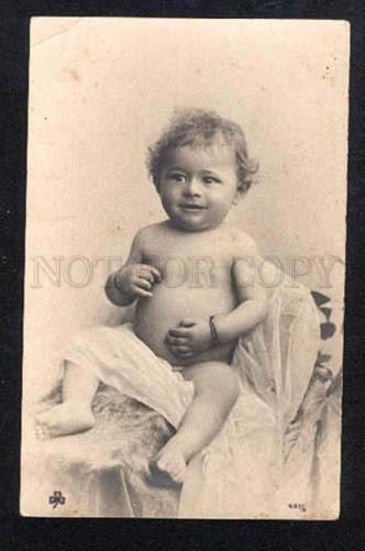022763 Smiling Boy. Vintage Real Photo PC