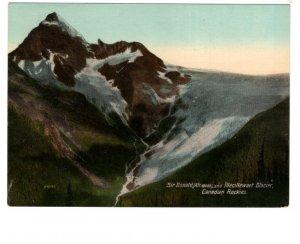 Oversize Sir Donald Illecillewaet Glacier Alberta, Canadian Rockies 5.5 X 7.5in