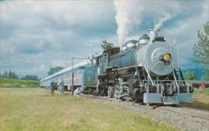 Excursion Train Steam Operated From Cottage Grove To Culp Creek Oregon