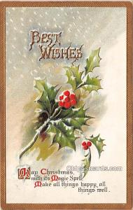 Holiday Postcards Postal Used Unknown