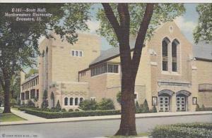 Illinois Evanston Scott Hall Northwestern University