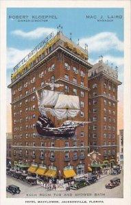 Robert Kloeppel Mac J Laird Each Room Tub And Shower Bath Hotel Mayflower Jac...
