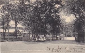 Entrance Paxtang Park , HARRISBURG , Pennsylvania , PU-1907