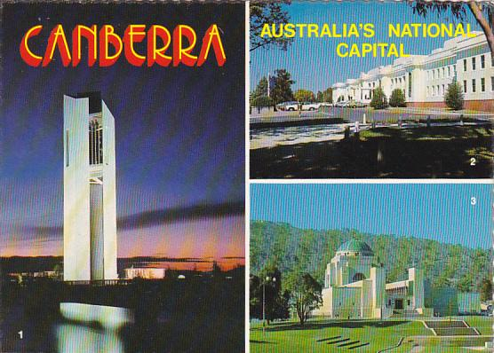 Carillon Parliament House and National War Memorial Canberra Australia