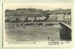 pp1634 - Shanklin Seafront, taken from the Pier, c1905 - Pamlin postcard