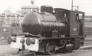 Huntley & Palmers Industrial Fireless Engine Class 0-4-0T no 1 Bagnell Train ...