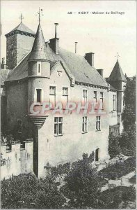 Postcard Old House Vichy Baillage