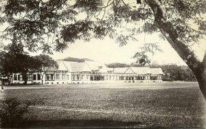 malay malaysia, KUALA LUMPUR, Selangor Club (1910s) RPPC Postcard