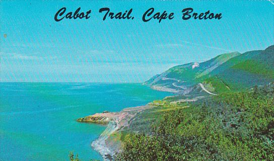 Canada Nova Scotia Cape Breton Cabot Trail 1976