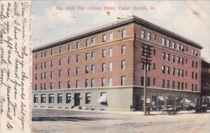 Iowa Cedar Rapids The Allison Hotel 1906