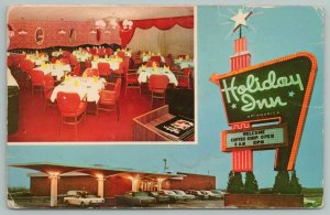 Richmond Kentucky~Holiday Inn Dining Room~Vintage Postcard