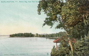 BURLINGTON, Vermont, 00-10s; Mark's Bay from Red Rock, TUCK # 5851