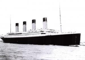 Large Size Repro Postcard, April 10 1912 RMS Titanic Departing Southampton #573