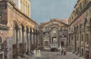 SPLIT-SPALATO , Croatia , 1900-10s;  Piazza d.l.Dumo ; TUCK 750