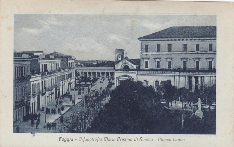FOGGIA (Puglia), Italy, 1910-1920s; Orfanotrofio Maria Cristina Di Savoia, Pi...