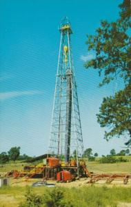 Mississippi Yazoo City Oil Drilling Rig