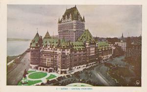 Chateau Frontenac - Quebec QC, Quebec, Canada - WB