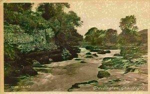 Grassington Ghaistrylls River Landscape Postcard