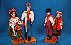 Canada - Manitoba, Dauphin. Ukranian Festival, Dolls