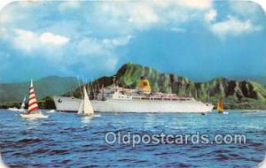 SS Mariposa, SS Monterey Oceanic Steamship Ship Postcard Post Card Oceanic St...