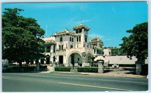SAN JUAN, PUERTO RICO   Casa de España   PRIVATE SOCIAL CLUB  ca 1960s Postcard