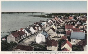 MONTREAL, Quebec, 00-10s General View Of The Iroquois Indian Village Caughnawaga