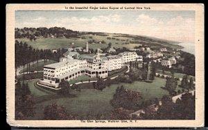 USA Postcard  The Glen Springs Hotel Watkins Glen New York