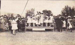 RP: May Day , Crowning May Queen, KAMLOOPS , B.C. , Canada , 1923 #2