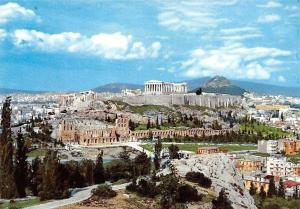 Greece Athens View of the Acropolis, Vue d'Acropole Panorama
