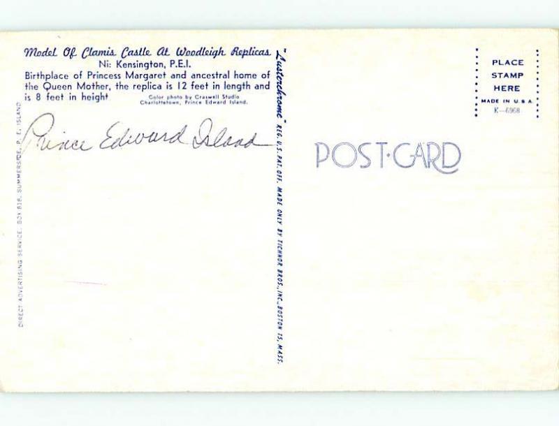 Unused Pre-1980 TOWN VIEW SCENE Kensington Prince Edward Island PE p8777