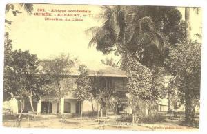 Afrique Occidentale- Guinee, Direction De Cable, Konakry, Guinea, 1900-1910s