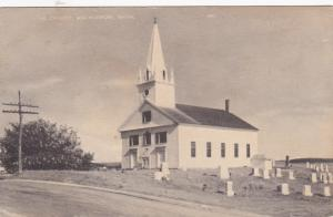 MACHIASPORT, Maine; The Church, 1930s