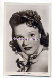 b4598 - Film Actress - Lola Lane, Picturegoer postcard No.1414